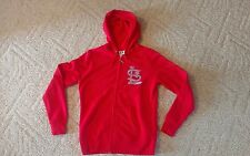 ST. LOUIS CARDINALS WOMEN'S HOODED BLING JACKET MAJESTIC BRAND NEW W TAG SMALL 2