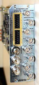Evertz 7730ADC-A4 Component Analog Video to SDI Converter & I/O