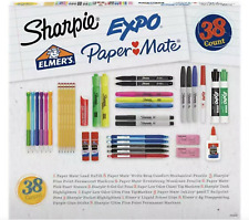 Sharpie Expo Paper Mate Elmers Back To School Essentials 38 Count Supply Bundle