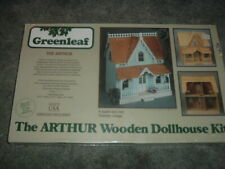 Greenleaf Wooden Dollhouse Kit -The Arthur Sealed Box -Complete 1:1 Scale