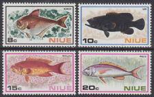 NIUE - 1973 Fish (4v) - UM / MNH