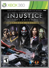 Injustice: Gods Among Us Ultimate Edition Xbox 360 New Xbox 360, Xbox 360