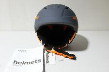 Uvex Airwing 2 Pro Skihelm f. Kinder,Gr.52-54,Farbe:Titantium Orange Matt (P396)