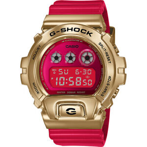 Casio G-Shock 6900 CNY Year of The Ox Red Gold Watch Limited Rare New GM6900CX-4