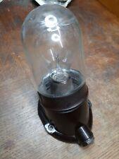 Alte Bakelit Glaskolbenlampe