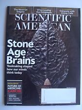 Scientific American Apr 2016: Stone Age Brains, Neuron Enigma, Galapagos, Cancer