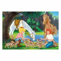 Schmidt Spiele Am Steinbruch 150 Teile Kinderpuzzle Bibi & Tina Puzzle Spiel