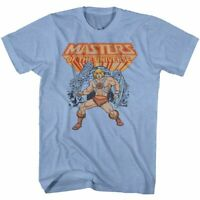 Masters of the Universe He-Man Light Blue T-Shirt