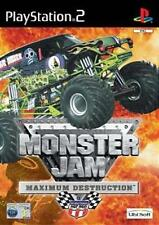 ps2 Monster Jam Maximum Destruction  - Great condition NO book