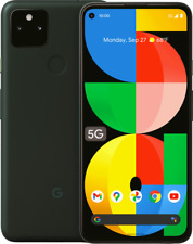 Google Pixel 5A + 5G -US - Unlocked - Mostly Black - Global Shipping