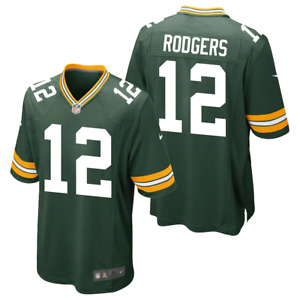 Green Bay Packers Jersey Nike NFL Home Kid's Jersey - Aaron Rodgers 12 - New