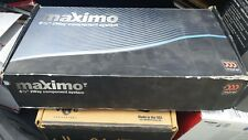 Morel Maximo 2-Way 6.5 in. 6 1/2 inch Componet Speaker Set w/ Crossovers & Box