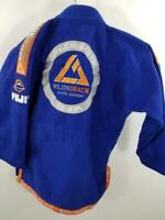 Rilion Gracie Elite 00 Boys Jiu Jitsu Academy Fuji GI CHILDREN Uniform Karate