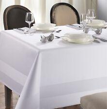 Tafeltuch ATLAS Curt Bauer - Damast-Tischtuch Tischdecke, 130x275 cm, weiß