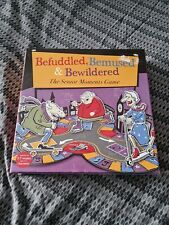 PAST TIMES - BEFUDDLED,BEMUSED and BEWILDERED BOARD GAME-The Senior Moments Game