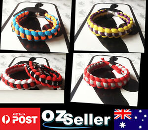Hand Made Braided Shoelace Bracelet Wristbands in NBA style