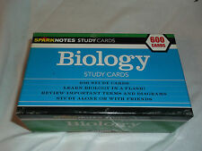 2004 Sparknotes BIOLOGY Study Cards 600 Cards