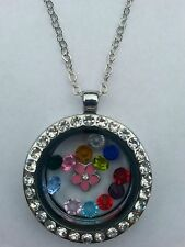 NEW Stainless Steel Living Floating Memory Locket + FREEChain & FREE Charms