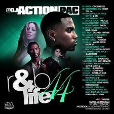 DJ ACTION PAC- R&B LIFE 44 (MIX CD) USHER,JEREMIH,JAZMINE SULLIVAN,AUGUST ALSINA