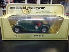 Matchbox Models of Yesteryear MG-TC 1975 Y-8 #3 groen