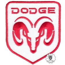 DODGE Ramm -  Patch Aufnäher Biker Pick Up Vintage Hot Rod Old School Racing