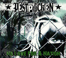 PESTPOCKEN - NO LOVE FOR A NATION CD (2012) DIGIPACK / DEUTSCH-PUNK