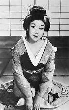 BD339 Carte Photo vintage card RPPC Femme woman Machiko Kyo Japon Actrice