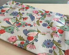 NUOVO BIRDSONG Tea T Asciugamano Vintage Uccello & Fiore Cotone Gisela Graham le madri giorno