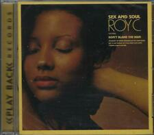 ROY C. Sex And Soul  New Factory Sealed Southern Soul / Soul & Blues CD