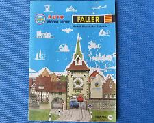 Faller Modellismo Anno Catalogo 1965/66