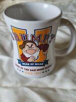 Disney Store ~ Grumpy U Dean Mean Home of the Bad Mood Dudes Coffee Mug Cup 12oz
