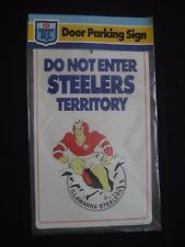 ARL ILLAWARRA STEELERS NSWRL Door Parking Sign - NEW!