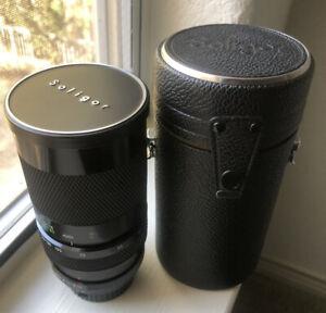 Soligor C/D 45-150mm F3.5 Canon FD Zoom Lens For Minolta Manual Focus
