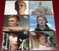 David Bowie The Man Who Fell To Earth - 6 Card Preview Set + Promo - Unstoppable
