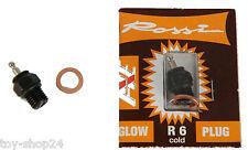 ROSSI R6 kalt Glühkerze RC Nitro Motor Zubehör # 905010