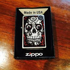 Zippo Lighter Death Skeleton 2010 Design