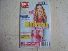 Madonna rare Tros Kompas cover magazine