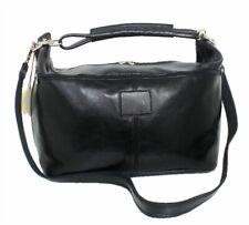 Große Leder Reisetasche Damen Herren XL Weekender Handgepäck Ledertasche Ausflug