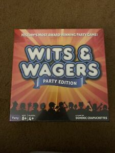 Wits and Wagers Party Edition Game - Brand New & Factory Sealed