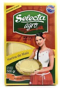 Selecta Corn Flour carton 16 x 500g - Harina De Maiz - FREE SHIPPING
