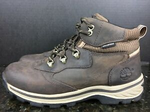 Timberland Womens Trail Hiking Boot 66961  Brown Leather Sz 8.5    #2