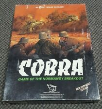 SPI  / TSR - Cobra Game of Normandy Breakout - New Expanded Edition - Unpunched