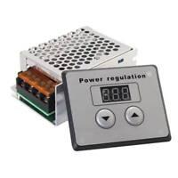 SCR de 4000W 220V AC Regulador de voltaje Controlador de temperatura de T2X6