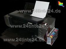 CISS manguera sistema Canon PIXMA pro 9000 pro9000 Mark II 2 CLI 8 R G tinta Ink