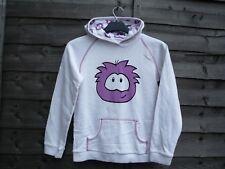 Disney Store Exclusive Club Penguin PUFFLE Girls Hoodie Hooded Jumper 11-12 year
