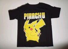 Pokemon Pikachu Shirt Boy's Black Pokemon Shirt Boy's Size Large 10/12 New NWT