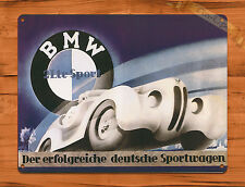 """TIN-UPS TIN SIGN """"BMW 328"""" Car Auto Vintage Retro Art Poster Wall Decor"""