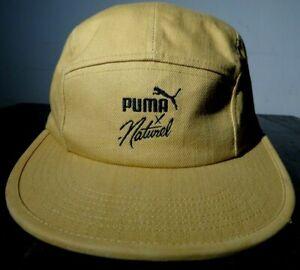 Puma x Naturel 5 Panel Skateboard Hat Cap Beige