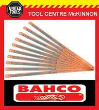 "10 x BAHCO SANDFLEX 32TPI 12""/300mm HSS BI-METAL HACKSAW BLADES – MADE IN SWEDEN"