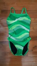 36 SPEEDO  MIGHTY PYTHON FLYBACK  SWIMSUIT $76 8191208 Womens Suit NEW with Tag